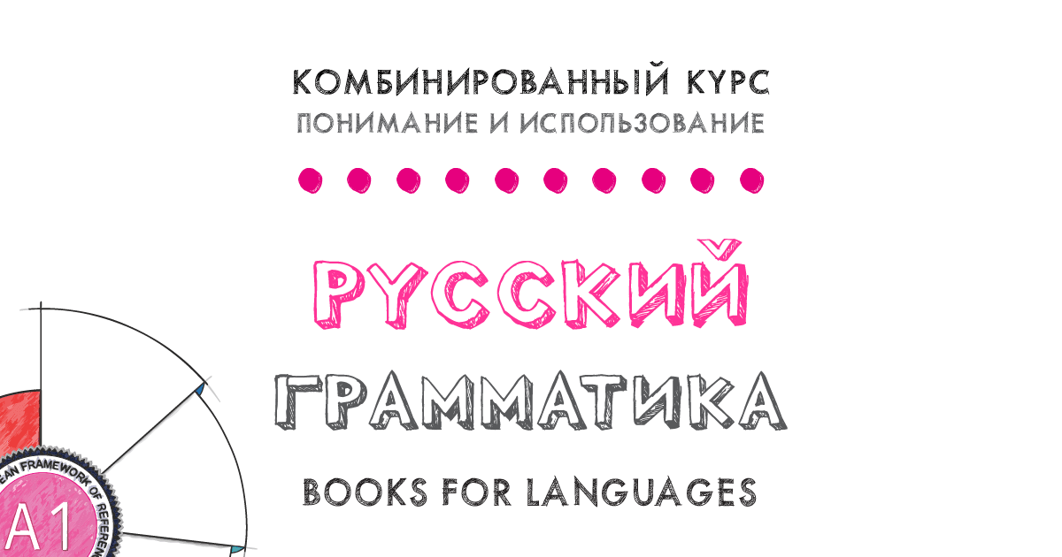 Russian Grammar A1 Level | by Books for Languages